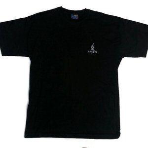 Vintage 1990's Greece Black T-Shirt